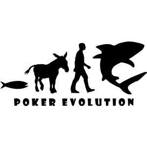 Poker Evolution - Fish, Donkey, Man, Shark