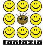 Fantazia Smiley Face Grid Bottom