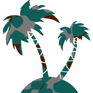 PALM TREE - CAMO / CAMOUFLAGE