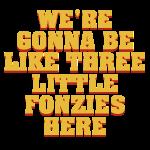 three little fonzies – lustige Geschenkidee