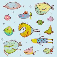 Fisch-Muster