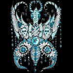 Papillon Lilou Turquoise