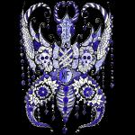 Papillon Lilou Bleu