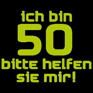 ich bin 50
