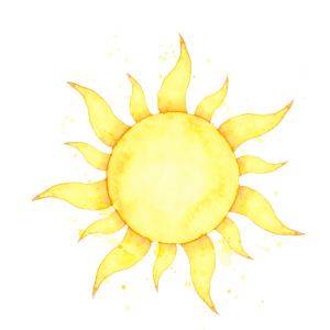 Die Sonne scheint
