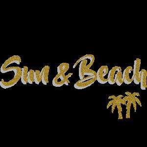 Palmen - All I need is Sun & Beach