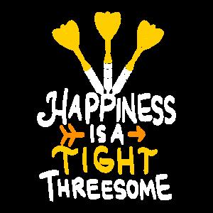 Funny Threesome Dart Shirt