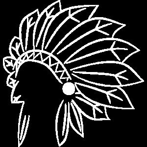 Indianer Schmuck Häuptling