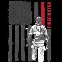 Feuerwehr Firefighter lustig USA Geschenk Hilfe
