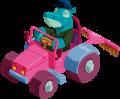 Motif Hippopotame