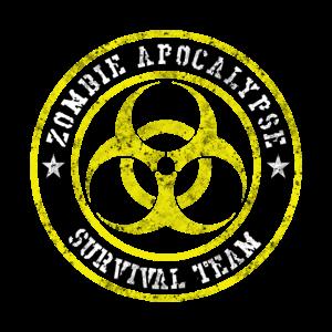 Zombie Apocalypse Survival Team Geschenk