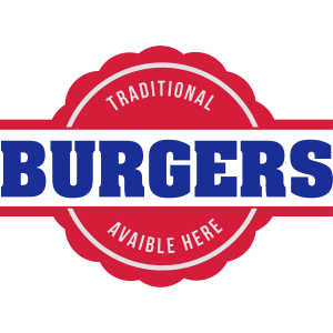 Traditionelle Burger