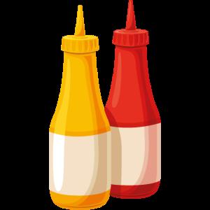 Ketschup und Senf