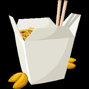 Chinesisches Essen zum Mitnehmen