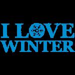 i love winter (1c)  | jahreszeiten | selber pullover, hoodie, etc. gestalten