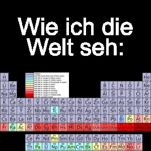 Wie Chemiker die Welt sehn
