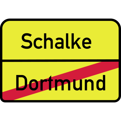 Schalke Dortmund - Anti Dortmund - schalke,ruhrpott,Dortmund,Gelegenheit,Dortmunder,lüdenscheid,gelsenkirchen