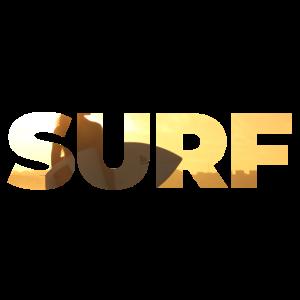 Surfen Sonnenuntergang
