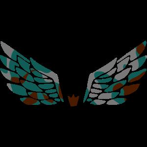 ANGEL WINGS - CAMO / CAMOUFLAGE