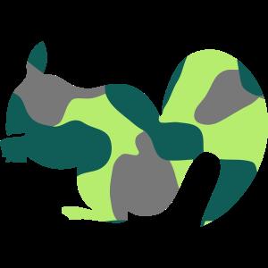 SQUIRREL - CAMO / CAMOUFLAGE