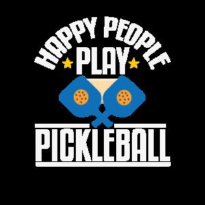 Happy People Play Pickleball