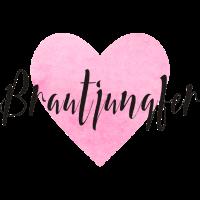 Brautjungfer rosa Herz Junggesellenabschied