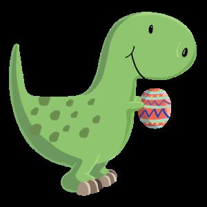 Dino mit Ei