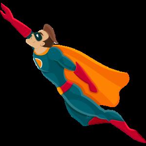 generischer Superheld
