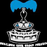 Logo vettoriale con scritta sotto