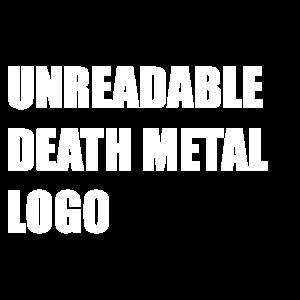 unleserlich Death-Metal-Logo