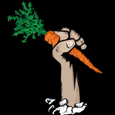Selbstversorger Faust 1.5 - Das Faust Logo der Selbstversorger Neubrandenburg - veggie,vegan,selbstversorger,Revolution,Garten,Bio