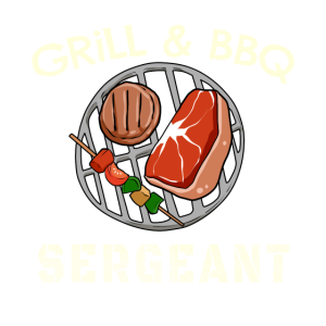 Lustiges Grill & BBQ Sergeant Barbecue T Shirt