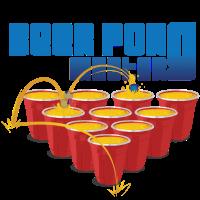 Beerpong Tischtennisball Bier Party Trinkspiel