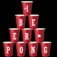 Bierbecher Bier Geschenk Beerpong Party Alkohol