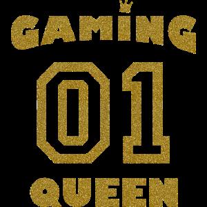 Spielerin Gold - Gaming Queen
