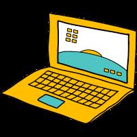Büro Laptop