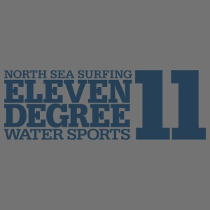 Surfing - eleven degree watersports (gray blue)