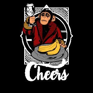 Prostender Affe - Cheers