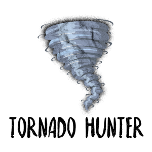Tornado Hunter Twister Unwetter Geschenkidee Sturm