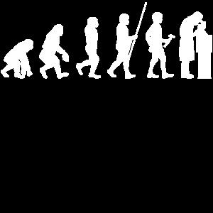 Evolution zum Wissenschaftler T-Shirt Geschenk