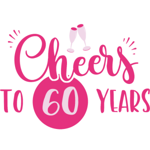 60 Geburtstag / Jahre: Cheers to 60 years Geschenk