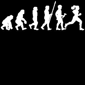 Evolution zum Sportler T-Shirt Geschenk
