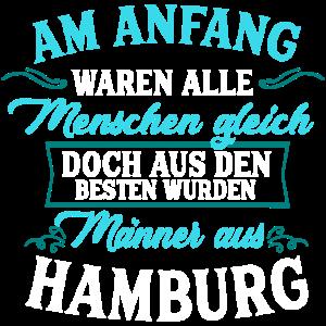 Männer aus Hamburg Geschenk Deutschland Stadt