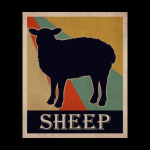 Retro Schaf