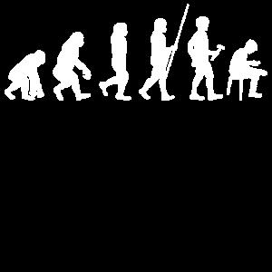 Evolution zur Handy Sucht T-Shirt Geschenk