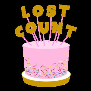 Lost Count Geburtstagskuche