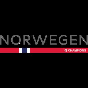 NORWEGEN CHAMPIONS - Norwegisches Fußball Geschenk
