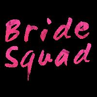 Bride Squad Pink Braut Junggesellinnenabschied