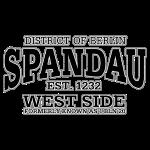 Berlin Spandau (oldstyle black print)