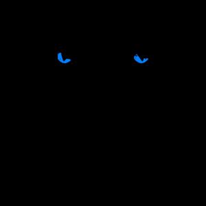 Hinter dir! - Blau